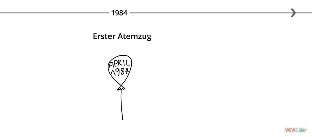 01 first breath 1984 Daniel Auer Kennenlernen